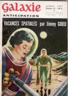 GALAXIE ANTICIPATION N° 41 (1ère Série) Avril 1957. Voir Sommaire. - Livres, BD, Revues
