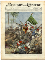 1911 Italian Mag. Italian Bloody Retaliation A Tripoli Tarabulus Libia Libya + Battle Of Tarabulus Jamahiriyya LITHO.S - Before 1900