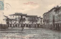 81 - Realmont - Place Du Marché - Realmont