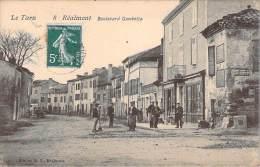 81 - Realmont - Boulevard Gambetta - Realmont