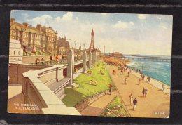 39609    Regno  Unito,    The  Promenade N. S. -  Blackpool,  NV - Blackpool