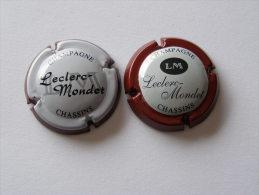 2 Capsules De Champagne - LECLERC MONDET - Collections