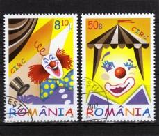 RUMANIA / ROMANIA / ROUMANIE  Año 2011   Yvert Nr. Usada  Circo - 1948-.... Repúblicas