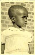 """CP Du MURAMBA-RUANDA """" Orphelina NOËL , Songeuse """" - Ruanda-Urundi"""