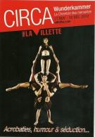 CP Publicitaire - Circa - Cirque - Acrobates - Cirque
