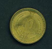 CHILE - 1970 10c Circ - Chile