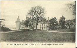 41 - Chaumont Sur Loire - Le Chateau Vue Prise Du Parc - Non Circulée - VRN - France