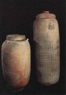 Israel, Jerusalem, Israel Museum, Two Jars From Qumran In Which The First Scrolls Were Discovered, Circule Non - Israel
