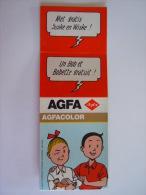 Suske En Wiske Bob Et Bobette Filmverpakking Couverture Film Agfa - Photographie