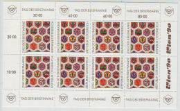 Österreich 1990, ANK 2022, Tag Der Briefmarke, Kleinbogen Postfrisch ** - Stamp's Day