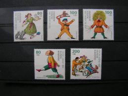 == BRD 1994 Jugend 1726-1730  ** MNH  €  13,00 - BRD