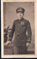 Doodsprentje Met Foto Achille Remi Nachtergaele Major Des Grenadiers Chef De Police Congo ° Waregem 1867 -1898 Boma - Images Religieuses