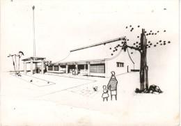 CPSM LE CHAMBON FEUGEROLLES (42): Nouvelle Eglise De Notre-Dame De Cotatay - Architecte J.Belmont - Le Chambon Feugerolles