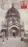 BRUXELLES - Eglise St-Marie - Superbe Animation - Monuments, édifices