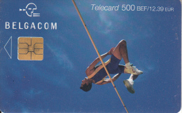 BELGIUM - High Jump, Exp. Date 30/09/03, Used - Met Chip