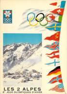 38] Isère-GRENOBLE - X Es Jeux Olympiques D´Hiver 1968- Les 2 ALPES - Vue Générale*PRIX FIXE - Grenoble