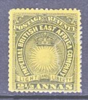 British East Africa 17  Fault  * - Kenya, Uganda & Tanganyika