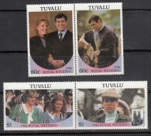 Tuvalu  Scott No. 381-82  Mnh  Year  1986 - Tuvalu
