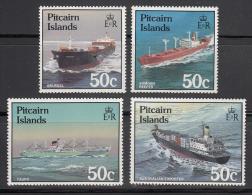 Pitcairn Isl.   Scott No. 281-84 Mnh  Year  1987 - Timbres