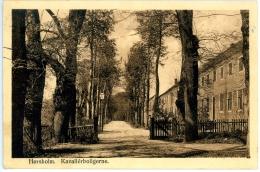 Horsholm. Kavallerboligerne, 5.5.1922 - Dänemark