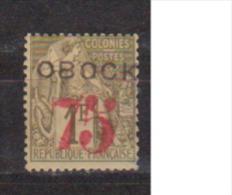OBOCK          N° YVERT     N°     30  (Signé)           NEUF AVEC CHARNIERES - Obock (1892-1899)