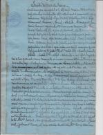VIEUX PAPIERS : COPIES D´EXPLOITS ET SIGNIFICATIONS DE PIECES SOCIETE DES OCRES DE FRANCE - Manuscrits