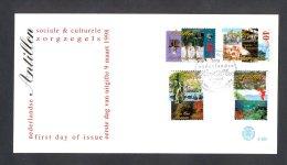 Miv290fb E290 LANDKAART FOTOTOESTEL PHOTO CAMERA MAP PRODUCTION OF DRINKING WATER PAINTING NEDERLANDSE ANTILLEN 1998 FDC - Niederländische Antillen, Curaçao, Aruba
