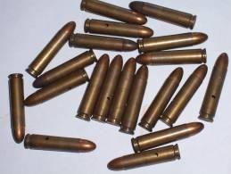 LOT De 22 CARTOUCHES US M1 NEUTRALISEES - Armes Neutralisées