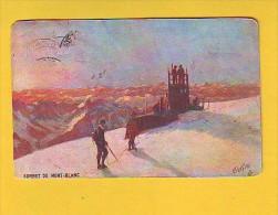 Postcard - Sommet Du Mont -Blanc, Oilette   (10362) - Altri