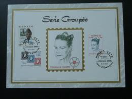 Feuillet CEF Monaco 2000 Série Groupée Princesse Stéphanie - FDC