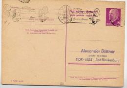 CHRISTMAS SIENA Italien 1968 Auf DDR P74 A Antwort-Postkarte - Natale