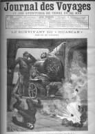 """Journal Des Voyages - N° 835 Du 9 Juillet 1893 - Le Survivant Du """"Huascar"""" - Chicago - La Fête De Saint-Jacques En Corno - Newspapers"""