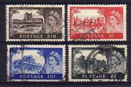 Great Britain - 1955 - High Value Definitives (Waterlow Printing) - Used - 1952-.... (Elisabeth II.)