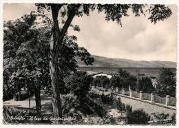 GROSSETO [581] - ORBETELLO Il Lago Dai Giardini Pubblici - FG/Vg 1953 - Grosseto