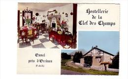 ENVAL   PRES D ORCINES      HOSTELLERIE DE LA CLEF DES CHAMPS - Non Classés