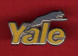 28746-Pin's Yale.panthere.signé Decat Paris - Animali