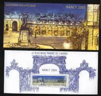 Bloc Souvenir N° 14 //  Nancy 2005  // Cote 8 Euros // Sous Blister Luxe Au Tiers De Cote - Souvenir Blocks & Sheetlets