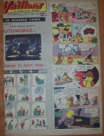 1960  Vaillant Le Journal Le Plus Captivant 810 - Vaillant