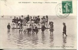 N°30497 -cpa Le Touquet Paris Plage- Plaisirs D'enfants- - Le Touquet