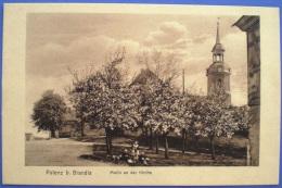 Polenz,Motiv An Der Kirche,ca.1920,Polenz Bei Brandis, - Brandis