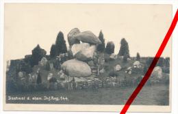 PostCard - Original Foto - Denkmal 5. Lothringisches Infanterie-Regiment 144 - Morhange (Moselle) Mörchingen - Forbach