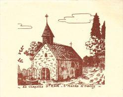 IMAGES  , 14 , PONT D'OUILLY , SAINT-MARDS-d´OUILLY , La Chapelle St-Rock - Vieux Papiers