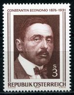 Österreich - Michel 1518 - ** Postfrisch - Constantin Von Economo - Wert: 0,70 Mi€ - 1945-.... 2ª República