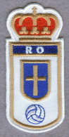 Real Oviedo Spanish Spain Football Soccer Badge Embroidered Patch - Scudetti In Tela