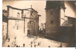 Santo Domingo De La Calzada. Carte Photo ,sortie De Messe. - La Rioja (Logrono)