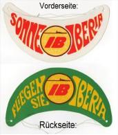 IBERIA - Kindersonneblende Aus Pappe (schon Etwas älter) - Werbung