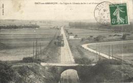 66562 - Pacy Sur Armençon (89) La Ligne Du Chemin De Fer - Autres Communes