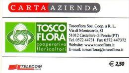 *CARTA AZIENDA 1° Tipo: TOSCO FLORA - Cod. 827* - NUOVA (MINT) In Blister
