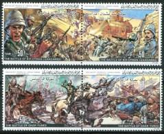 1983 Libia Battaglie Militari Military Armèe Set MNH** R2 - Libya