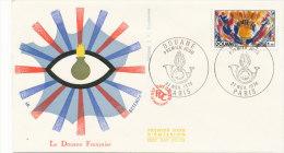F.D.C.LA DOUANE (Oblit. PARIS Du 27.11.1976) - FDC